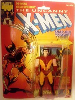 Toy Biz The Uncanny X-Men Wolverine (with Snap Out Claws) Action Figure 4.75 Inches