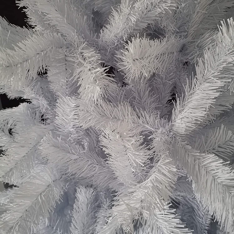 5ft - CT07668 Snowtime WHITE COLORADO DELUXE ARTIFICIAL CHRISTMAS TREE