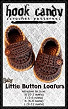 Baby Little Button Loafers: Hook Candy Crochet Patterns