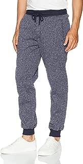 Men's Basic Fleece Marled Jogger Pant-Reg and Big & Tall Sizes