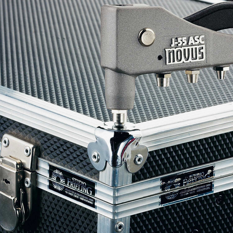 Novus 045-0036 remaches de acero 4 mm 20 unidades