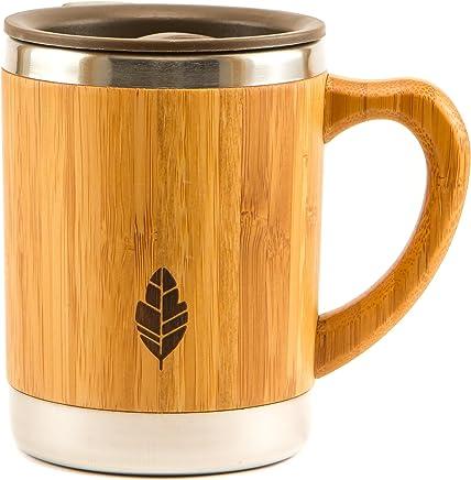 3198149df01 Amazon.com: Wood - Coffee Cups & Mugs / Cups, Mugs, Saucers: Home ...