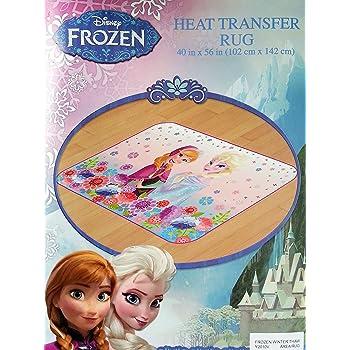 "Disney Frozen Princess Winter Thaw Area Rug, 40"" x 56"", Pink/Purple"