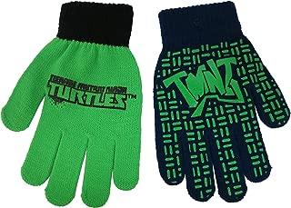 Teenage Mutant Ninja TMNT Boys 2 Pair Glove Set - Size 4-14 [4013]