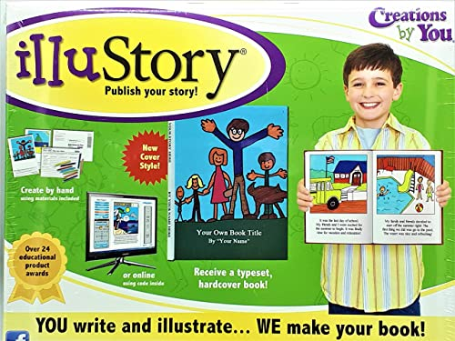 compras en linea Illustory - Write and Illustrate Your Your Your Own Book Kit by Creations by You  Envío y cambio gratis.