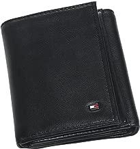 Tommy Hilfiger Men's Genuine Leather Oxford Slim Trifold Wallet
