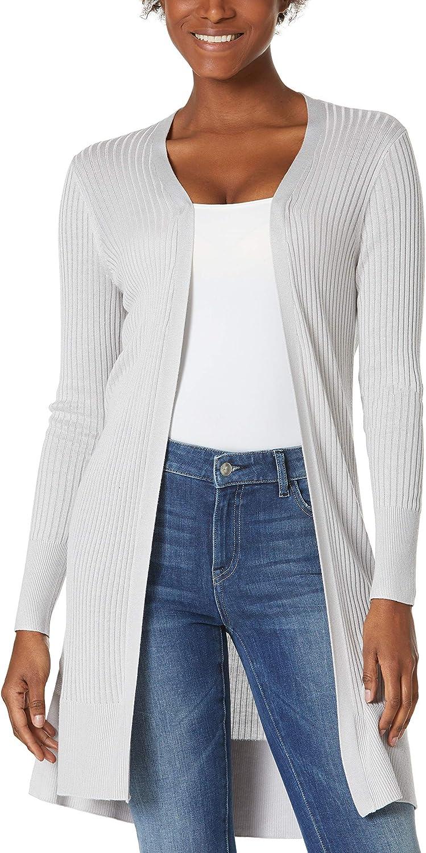 HUTOBI Women's Open Front Cardigan Shirt Long Sleeve Lightweight Coat