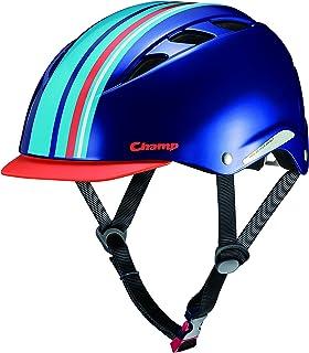 オージーケーカブト(OGK KABUTO) 自転車 ヘルメット 子ども用 CHAMP(チャンプ) ストックブルー 児童用(頭囲:50~54cm)