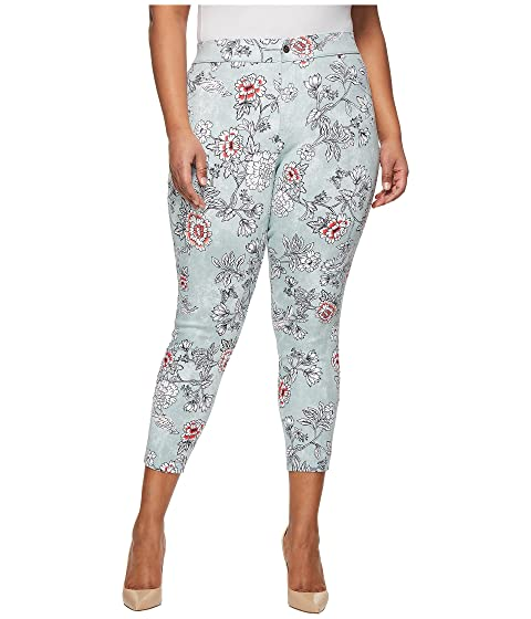 Essential Denim Plus Clouded Size Skimmer HUE Floral 7PwI06Rqw