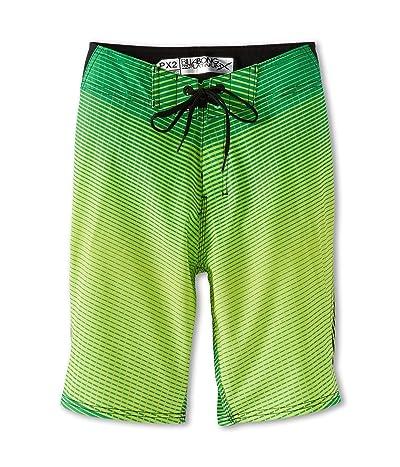 Billabong Kids 73 Stripe Pro Swim Shorts (Big Kids) (Blue) Boy