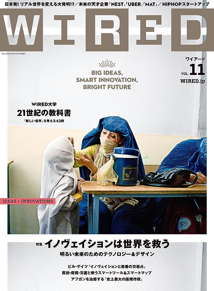 機密コークス所得WIRED(ワイアード)VOL.11 [雑誌]