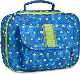 Bixbee Boys Blue EmotiCamo Insulated Lunch Box