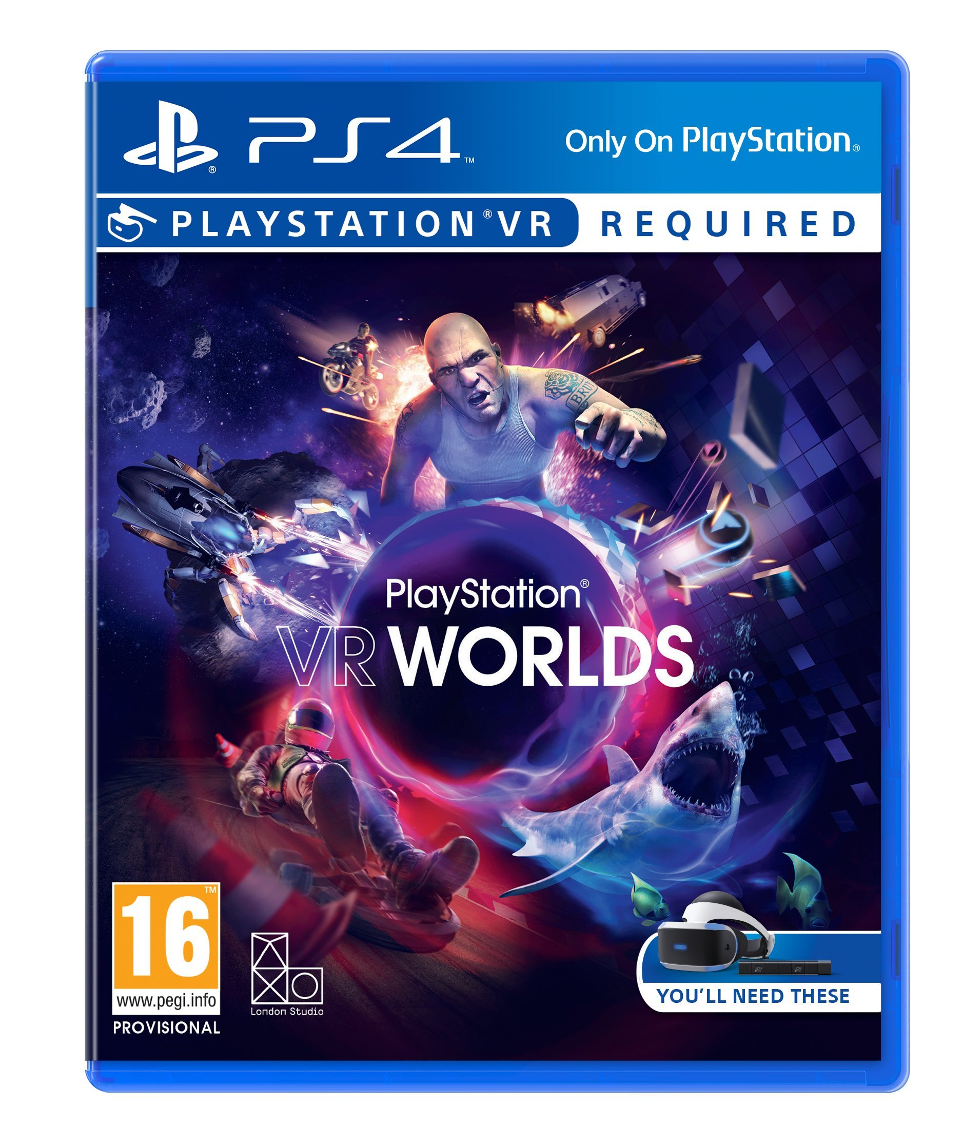 Playstation VR Worlds [Importación Inglesa]: Amazon.es: Videojuegos
