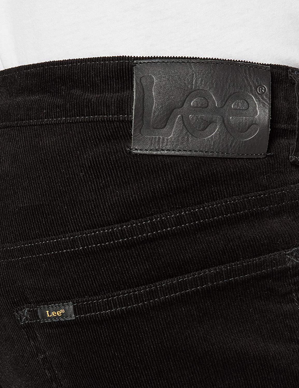 Lee Daren Zip Fly Corduroy Pantalon Homme Noir (Black 01)