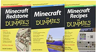 Minecraft For Dummies Collection, 3-Book Bundle (For Dummies (Computer/Tech))