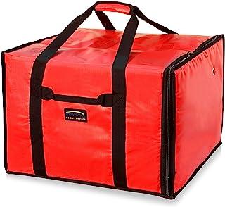 Picknicktasche f/ür hei/ße Speisen LZDseller01 Isolierte Pizza-Liefertasche Pizza-Tasche wiederverwendbar 42 x 42 x 23 cm
