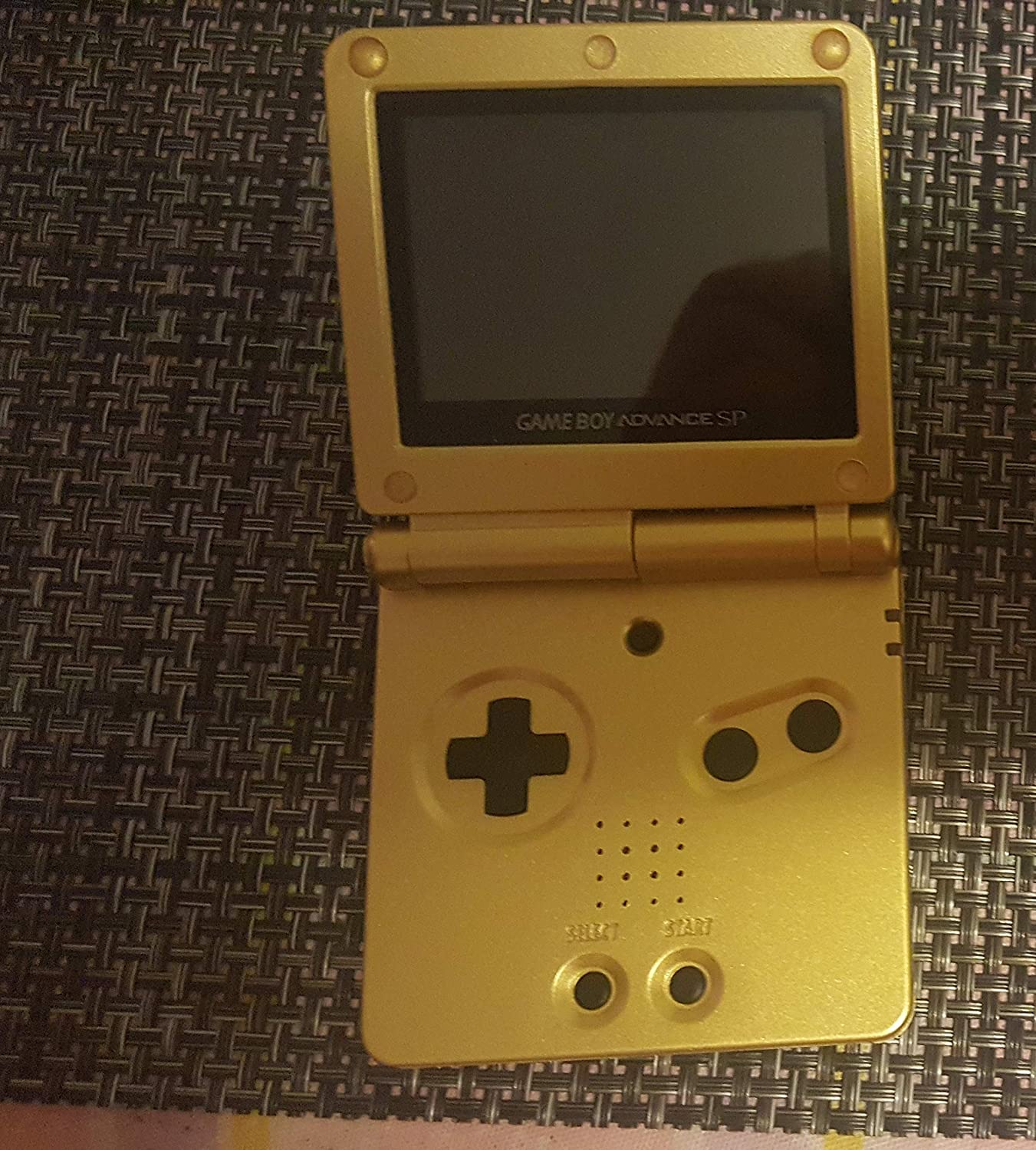 Game Boy Advance Sp Gold Computers Accessories