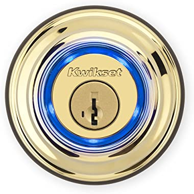 Kwikset Kevo 99250-201 Kevo 2nd Gen Bluetooth Touch-to-Open Smart Electronic Door Lock Deadbolt Featuring SmartKey Security,