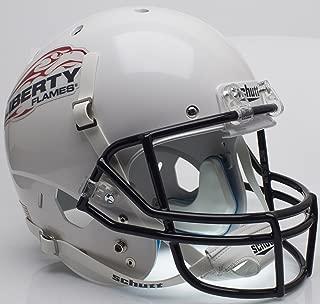 Schutt Liberty Flames Full XP Replica Football Helmet - NCAA Licensed - Liberty Flames Collectibles