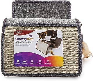 SmartyKat Scratch Scroll Cat Scratcher Carpet and Sisal Cat Furniture - Assorted colors