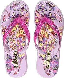 BAHAMAS Women Pink Purple Slippers-6 UK (BH0100L_PKPL0006)