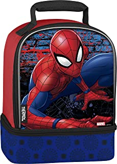 Thermos Dual Compartment Lunch Kit, Spiderman