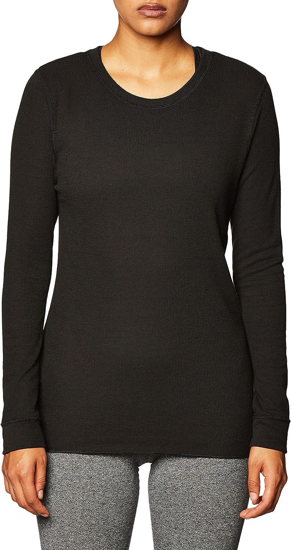 Fruit of the Loom Women's Micro Waffle Premium Thermal Underwear Tee Shirt