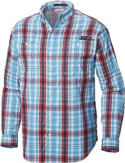 Columbia Men's PFG Super Tamiami Long Sleeve Shirt, UPF...