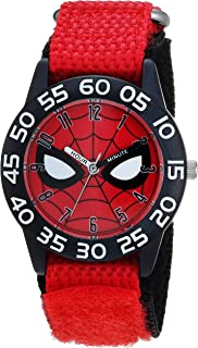 MARVEL Boys Spider-Man Analog-Quartz Watch with Nylon...