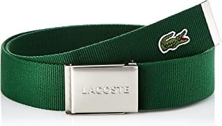 Lacoste Men's L1212 MENS CANVAS BELT 40 WOVEN STRAP IN KIT