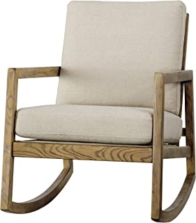 Signature Design by Ashley A3000081 Accent Chair, Rocking Off-White