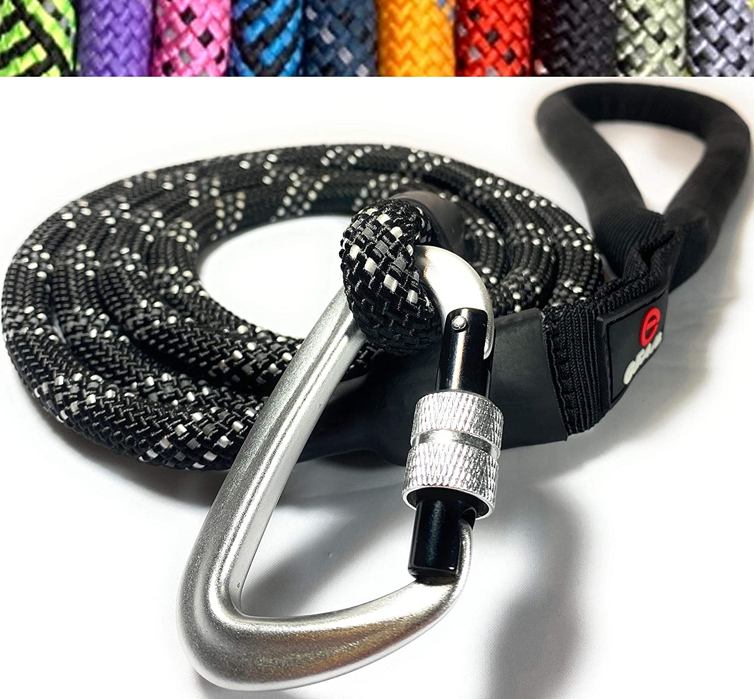 Enthusiast Gear Rope Dog Leash Large Locking for Carabiner Max 59% OFF Industry No. 1 with