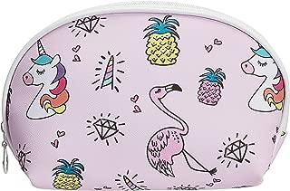 Amazon Brand - Solimo Cosmetic, Makeup & Toiletries Pouch (Unicorn; Multicolour)