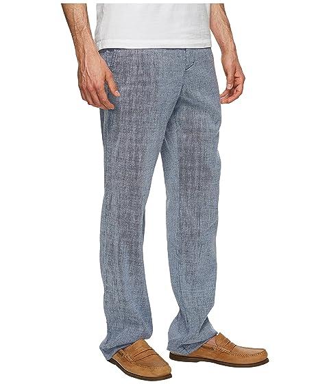 Tommy cintura marítimo de pantalones Linen Bahama Beach elástica BxqrHOB