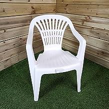 Sedie In Plastica Usate.Amazon It Sedie Giardino Plastica Casa E Cucina