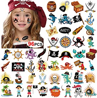 pirate makeup girl child
