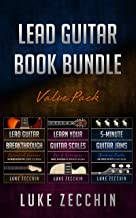 Lead Guitar Book Bundle: Lead Guitar Breakthrough + Learn Your Guitar Scales + 5-Minute Guitar Jams (Books + Online Bonus)
