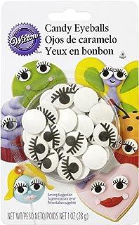Wilton 710-2223 Icing Candy Decorating Eyeballs with Eyelash
