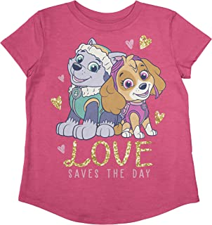 Jumping Beans Toddler Girls Love Saves Day SS Tee