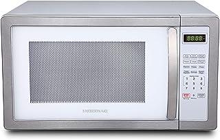 Farberware FMO11AHTPLB 1.1 Cu. Ft. 1000-Watt Microwave Oven with LED Lighting Cubic Feet,..