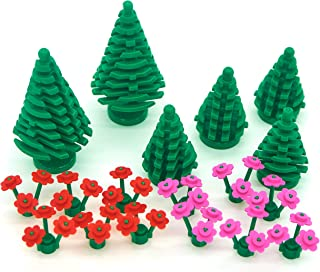 lego garden pack trees and flowers
