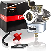 1PZ UMT-6A1 Carburetor with Fuel Filter Gasket Fuel Line for Tecumseh 632589 631827 632615 632208 631068A 631068B, Tecumseh H25 H30 H35 4 Cycle Engines