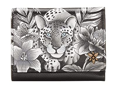 Anuschka 1138 RFID Blocking Small Flap French Wallet (Cleopatra