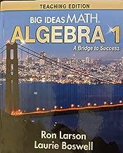 Big Ideas Math: A Bridge to Success Algebra 1 Teaching Edition, 9781642088502, 1642088501