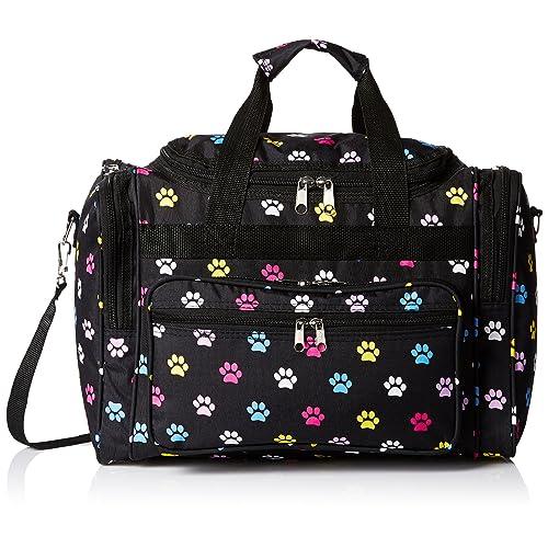 fc9c7dd04198 World Traveler 81T16-589 Duffle Bag, One Size, Multi Paws