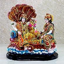 eSplanade - Resin Lakshmi Narayan in KSheer Sagar - 10 inches | Lord Vishnu with Laxmi Idol Murti Statue | Pooja Idols | H...