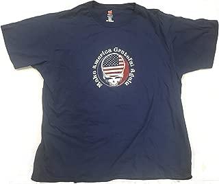 Make America Grateful Again Patriotic t-Shirt Navy Blue