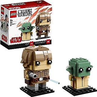 LEGO Brickheadz - Luke Skywalker y Yoda,
