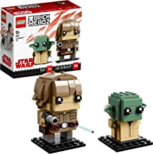 LEGO Brickheadz - Luke Skywalker y Yoda,