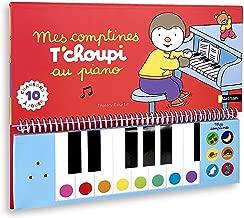 Mon livre piano T'choupi - Dès 2 ans